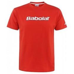 Футболка для мальчиков BABOLAT TRAINING BASIC оранжевая