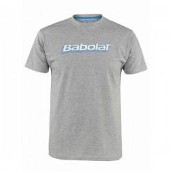 Футболка для мальчиков BABOLAT TRAINING BASIC серая