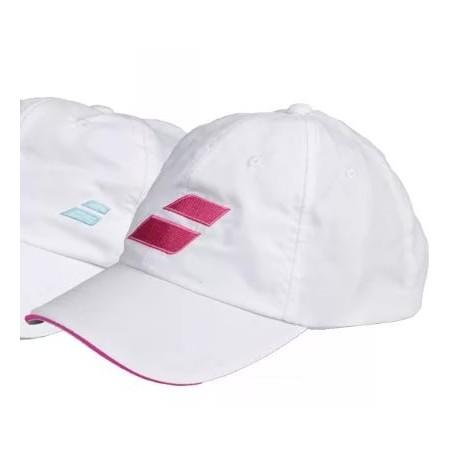 Кепка BABOLAT (Белая/Розовая)