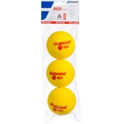 Теннисные мячи BABOLAT RED FOAM x3 (24 шт в коробке) поролон