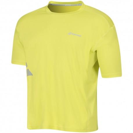 Футболка BABOLAT FLAG CORE  (лимонный)