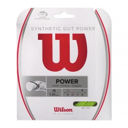 WILSON Synthetic Gut Power 130/16 Lime 12.2