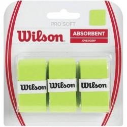 Овергрип WILSON Pro Overgrip x3 Lime