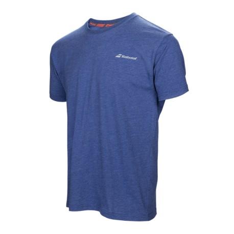 футболка Babolat Core мужская (белая)