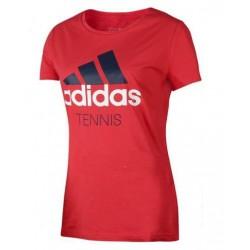 Футболка теннисная женская Adidas Tennis