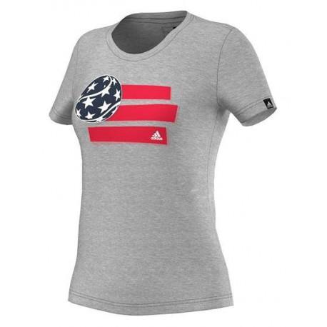 Теннисная женская футболка ADIDAS TENNIS
