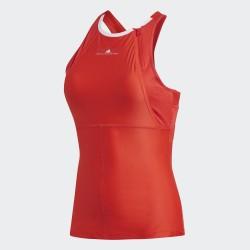 Топ Женский теннисный ADIDAS Stella McCartney Barricade Tank Красный