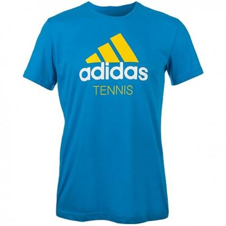 Теннисная футболка мужская ADIDAS