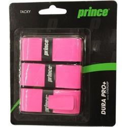 Намотки теннисные Prince dura pro+ розовый, 3шт/уп