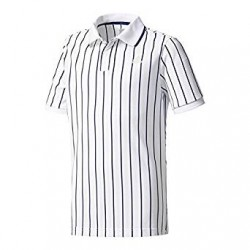 Теннисное поло Adidas Pharrell Williams NY Striped Boy's Tennis Polo