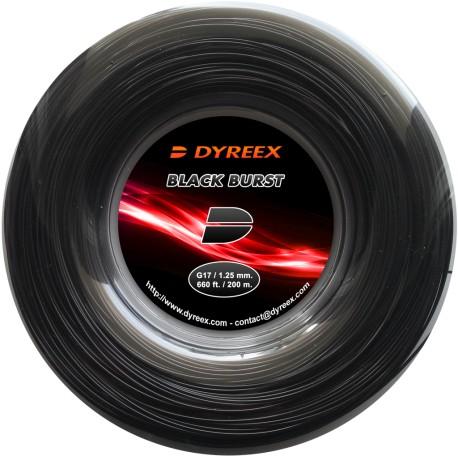 Теннисные струны Dyreex Black Burst (200 m)