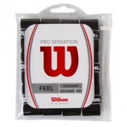 Намотка Wilson Pro Overgrip Sensation x12 (черные)