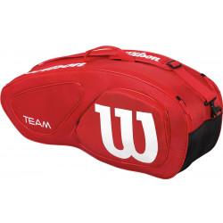 Сумка для ракеток WILSON Team II 12 Pack Bag Красный