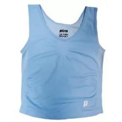 Спортивный комплект для девочки (топ+шорты) Prince (голубой)