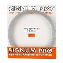 Теннисные струны Signum Pro Poly Speed Spin 1.28/12 m.