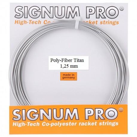 Теннисные струны Signum Pro Poly Fiber Titan