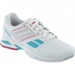 Кроссовки теннисные BABOLAT Propulse Team BPM (Белый/Розовый)